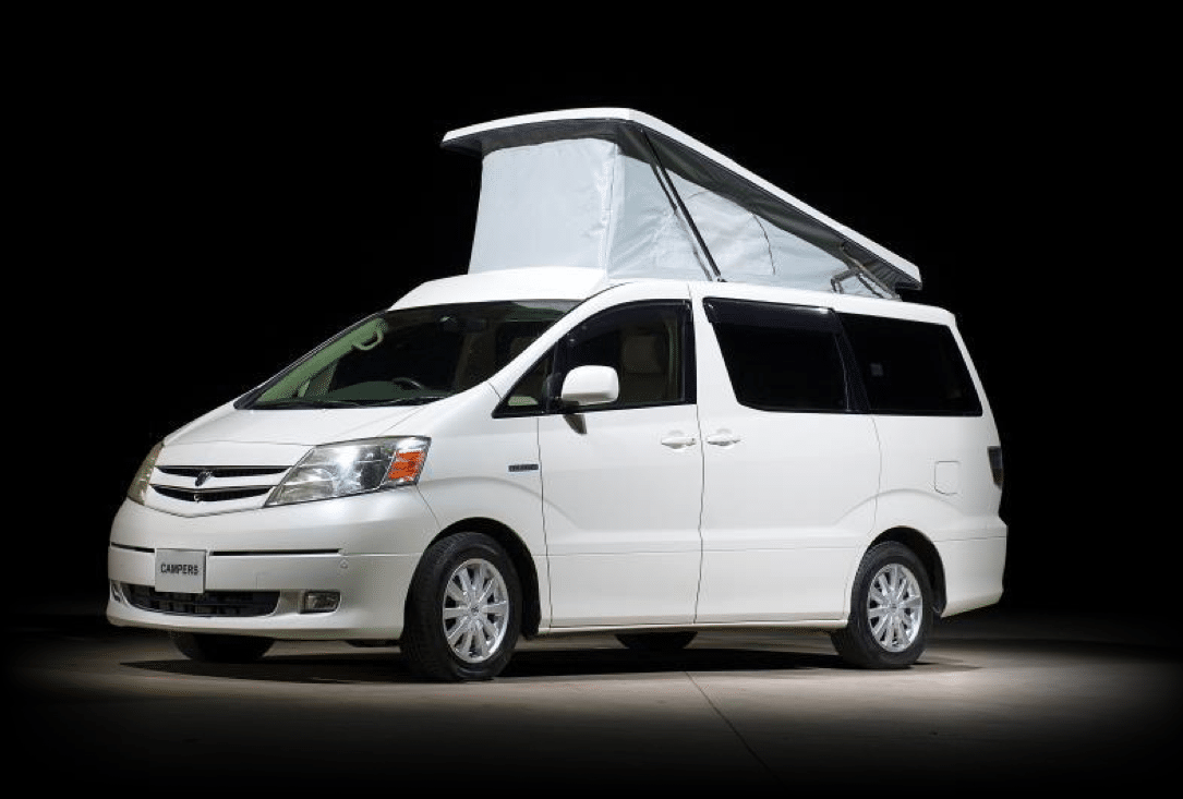 Eco Camper Hybrid- Toyota Alphard - The Pioneer