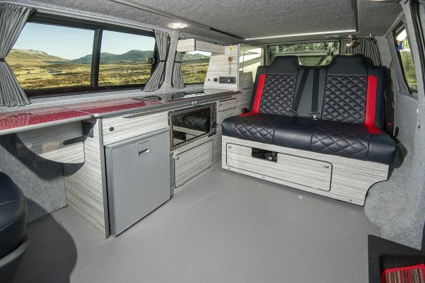 Transporter T6 conversion by The Campervan Company.