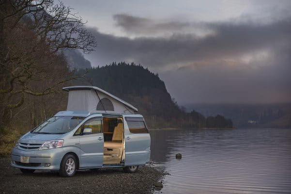 Eco Camper - Toyota Alphard - The Pioneer