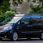 Black Toyota Alphard Campervan - Eco Explorer