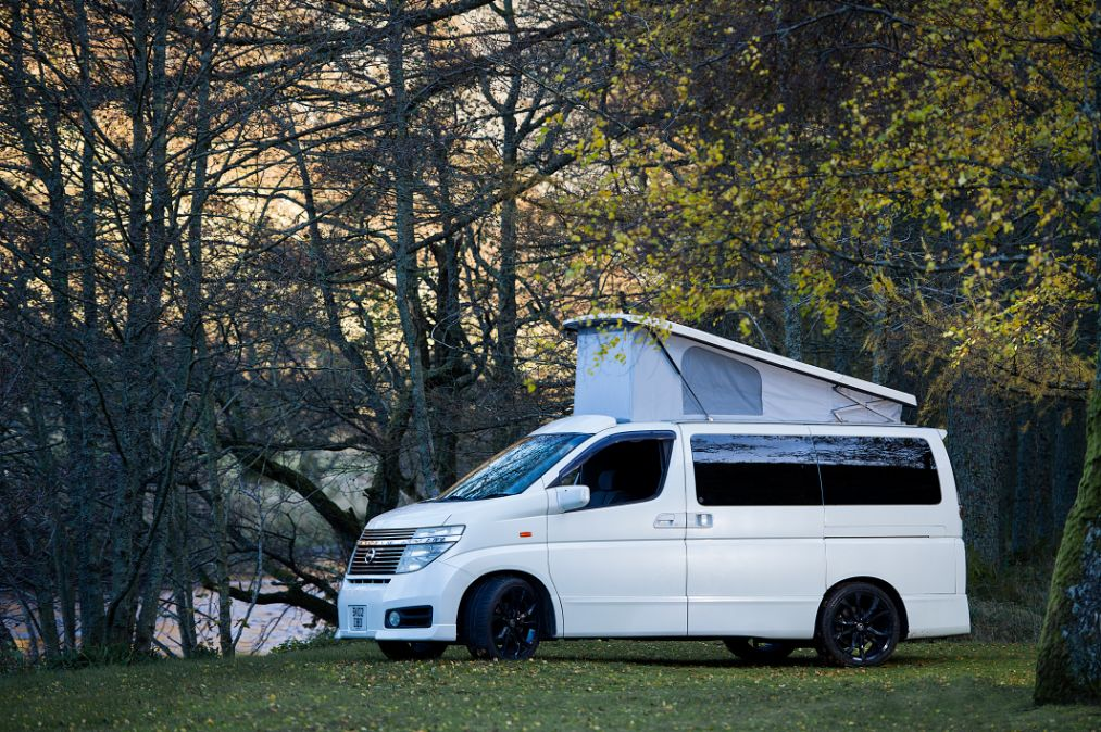 The Velocity - Nissan Elgrand - Campervan