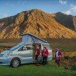 The Pioneer Toyota Alphard Campervan and family