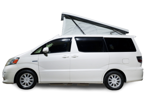 Campervan Co Alphard White Book a test drive