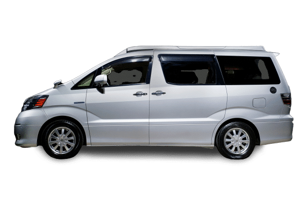 The Eco Pioneer - Toyota Alphard - Campervan