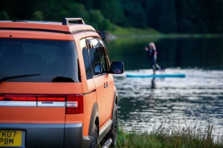 2021 staycation with campervan