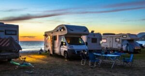 Image of a motorhome